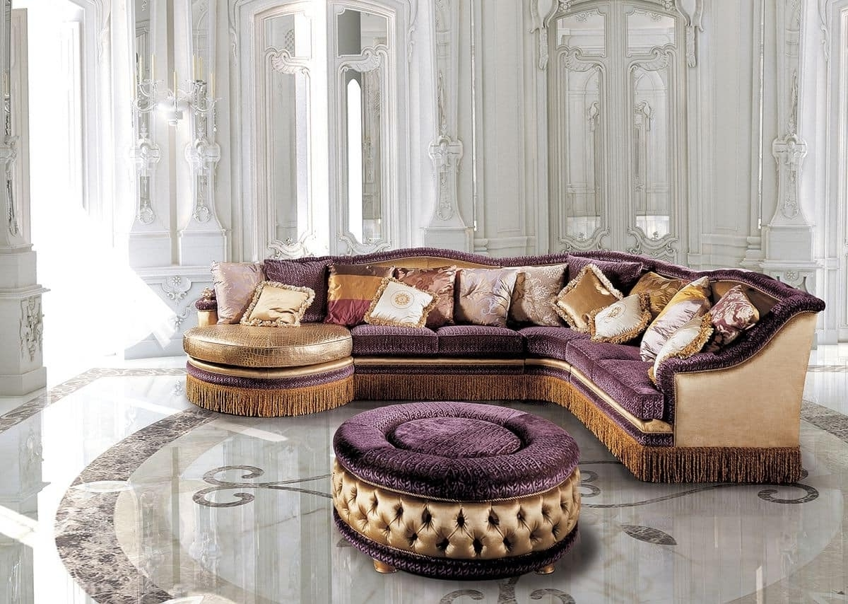Classic Sofas With Regard To Well Liked Luxury Classic Modular Sofa, For Living Rooms (View 6 of 20)