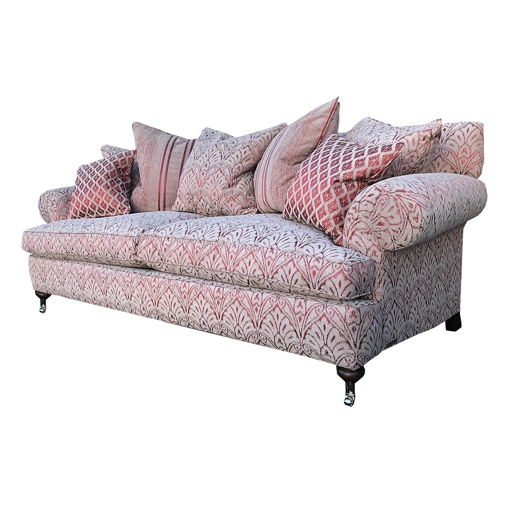 Clearance Duresta Sofa Burford Grand In Florence Damask Russet In Preferred Florence Grand Sofas (View 2 of 20)