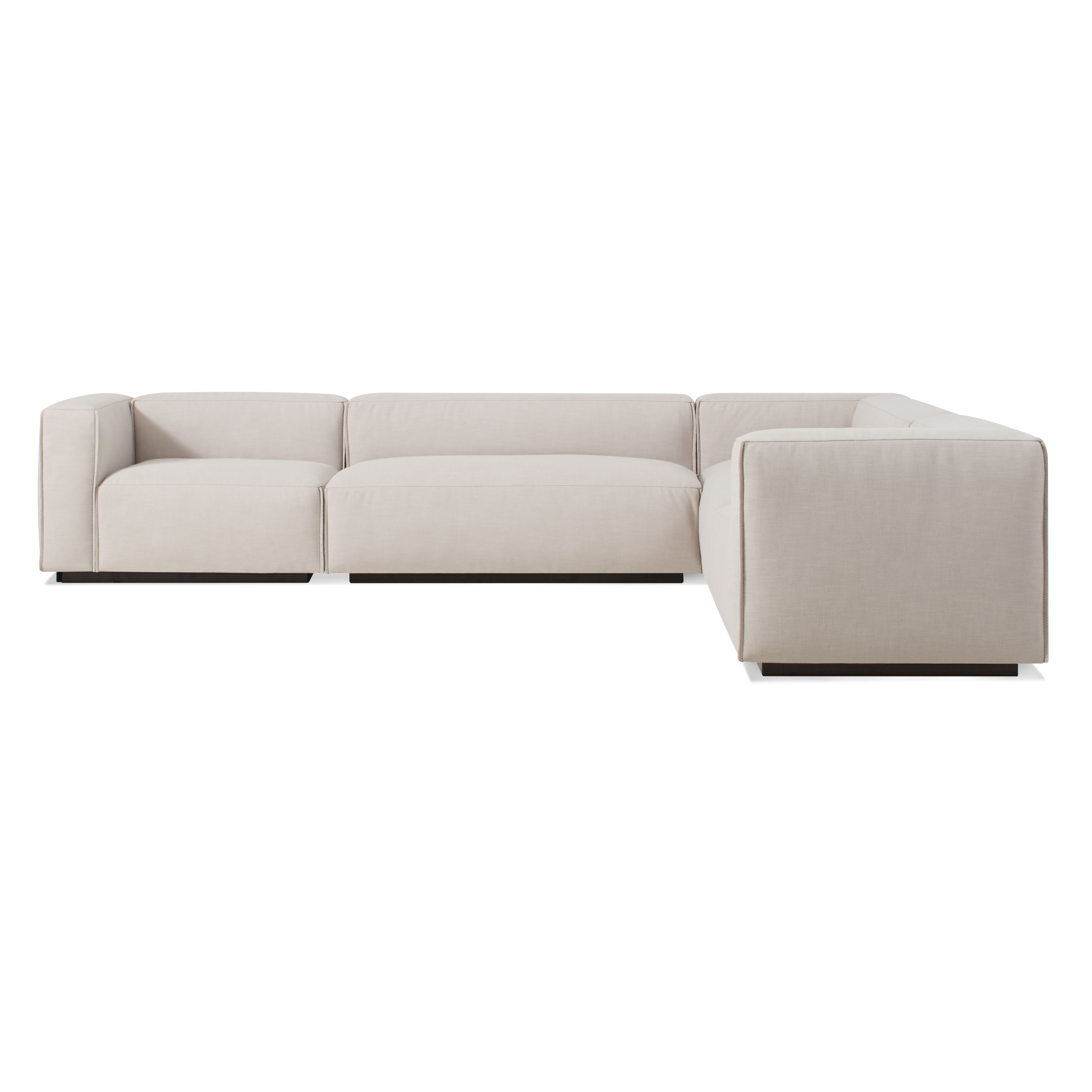 Cleon Large Modern Sectional Sofa (View 4 of 20)