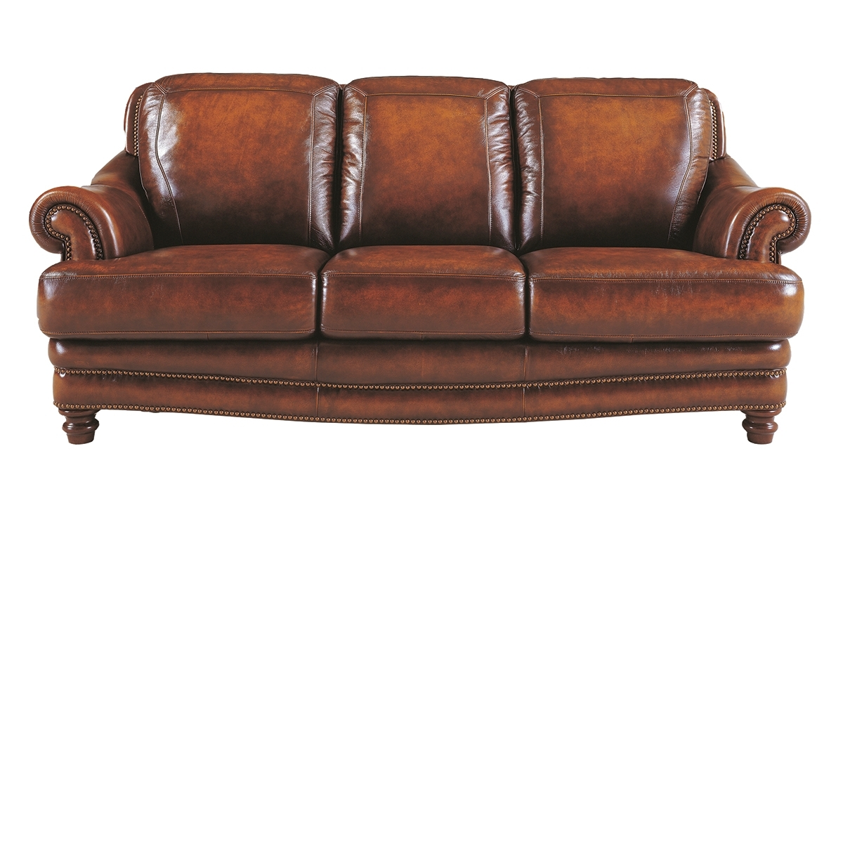 Closeout Sofas Throughout Latest The Dump Furniture – Tannery Closeout: Top Grain Leather Sofa (View 4 of 20)