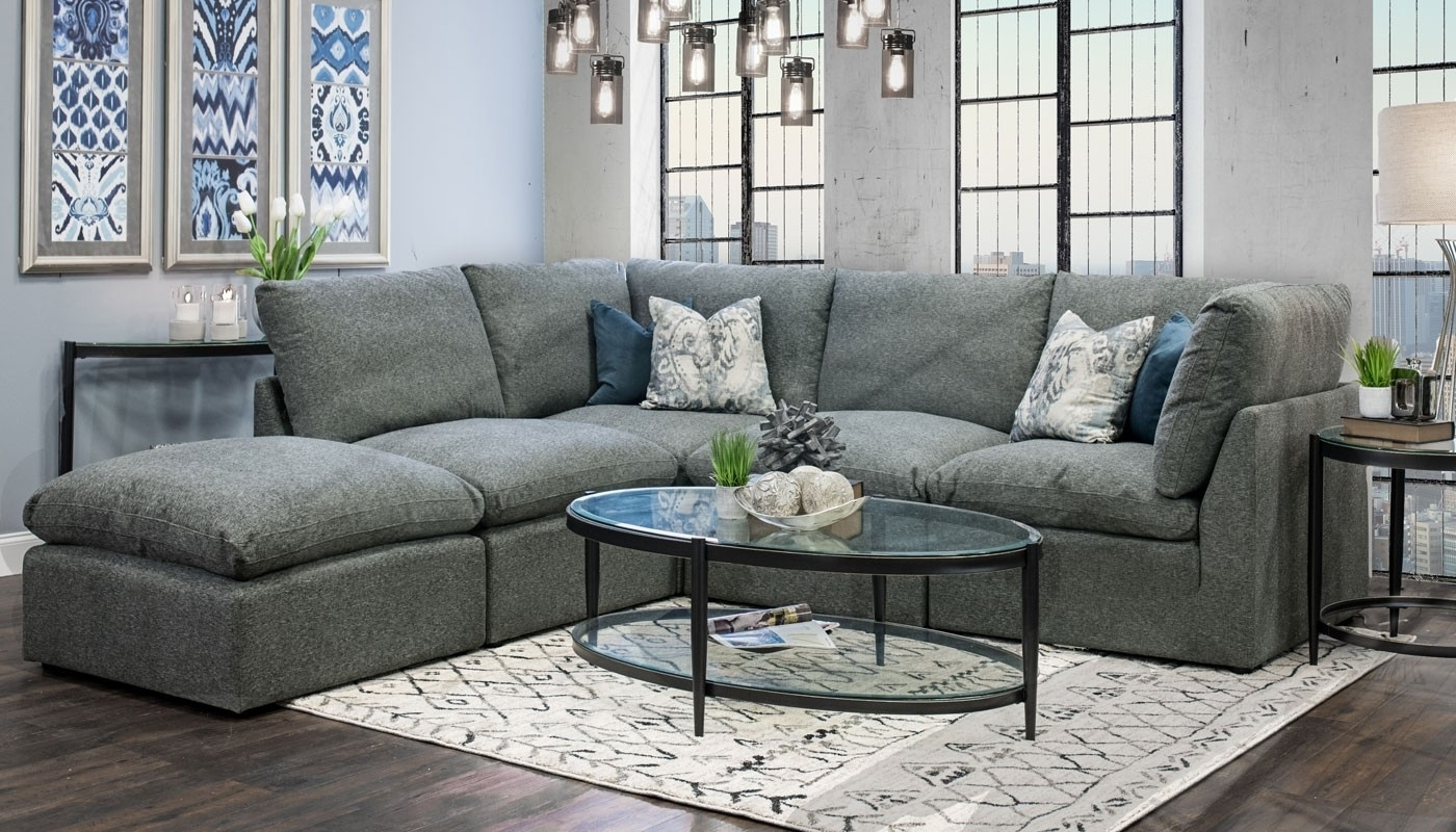 Cloud Sectional – Home Zone Furniture (View 11 of 20)