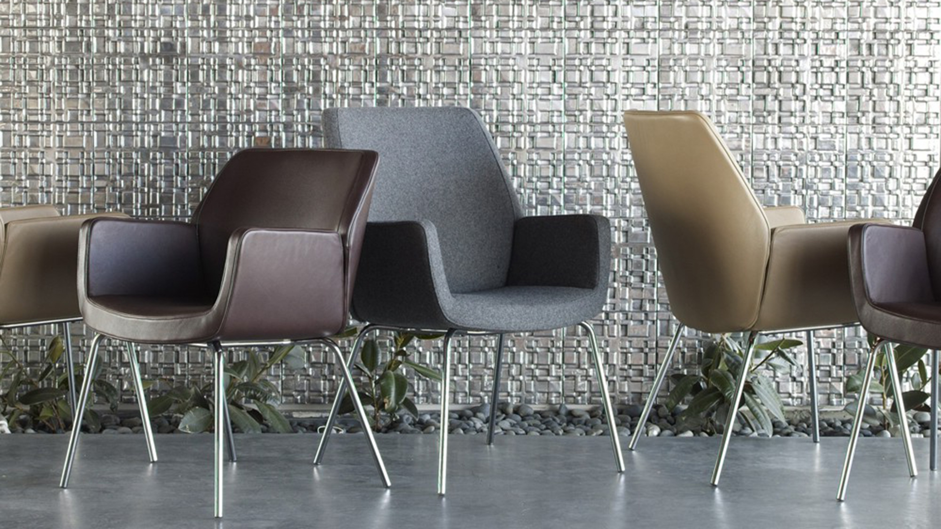 Coalesse Bindu Luxury Office & Guest Chairs – Steelcase With Newest Executive Office Side Chairs (View 8 of 20)