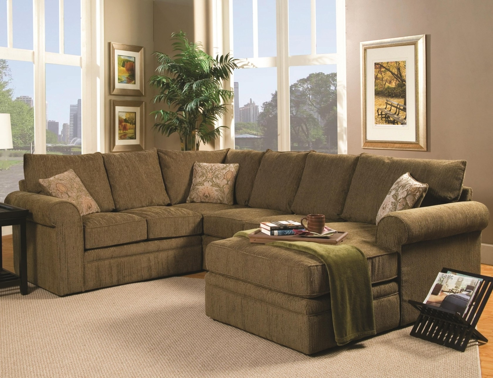 Comfortable Sectional Sofas Within Most Recently Released Most Comfortable Sectional Sofa With Chaise (View 7 of 20)
