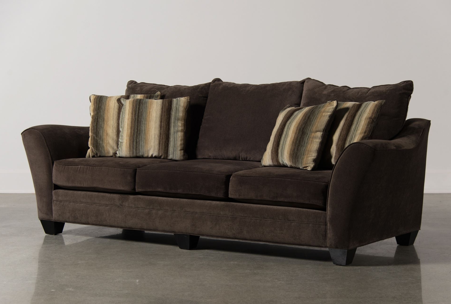 Comfortable Sofas And Chairs Within Preferred Belleview Slate Sofa – Living Spaces One Of The Most Comfortable (View 16 of 20)