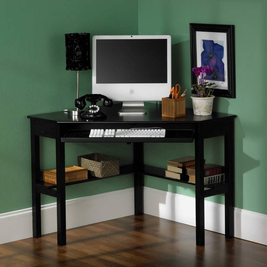 Computer Desk For Small Spaces – Design Decoration With Best And Newest Gold Coast Computer Desks (View 13 of 20)