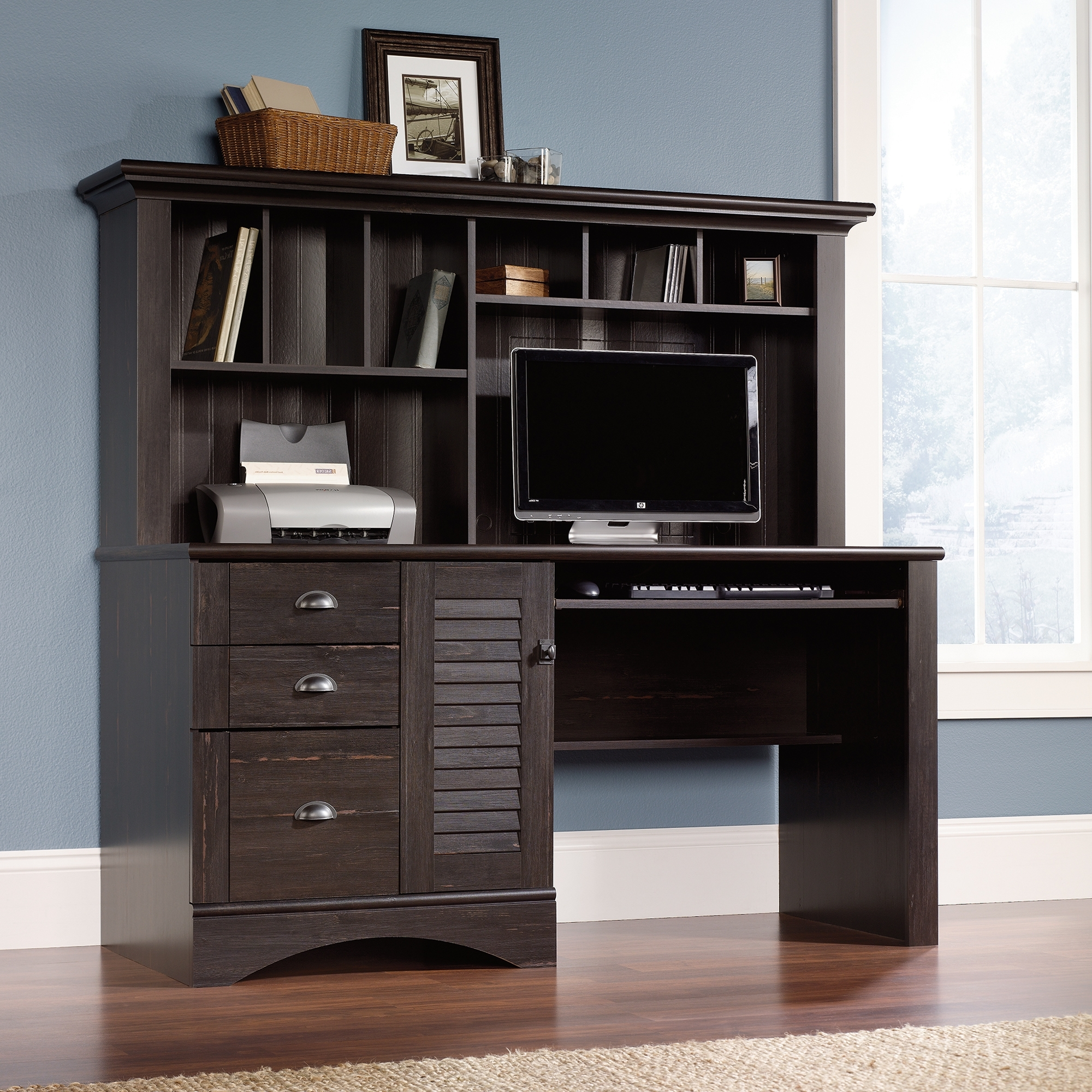 Featured Photo of Computer Desks With Hutch