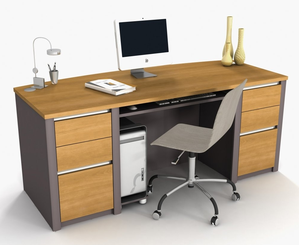 Computer Desks And Chairs With Popular Choosing The Right Office Desk Furniture  (View 9 of 20)
