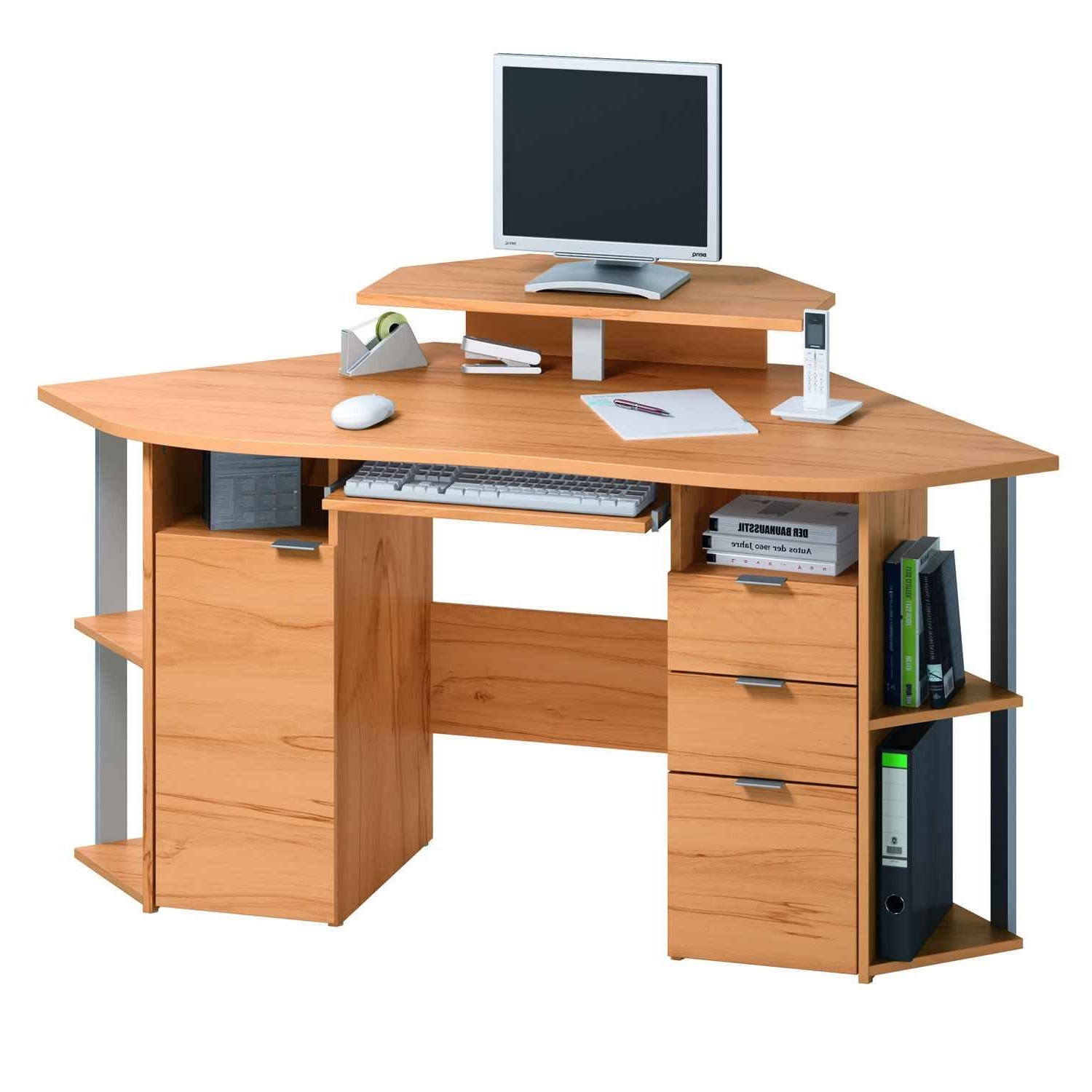 Computer Desks And Workstations Regarding Best And Newest Emejing Computer Tables Desks Argos Images – Liltigertoo (View 11 of 20)