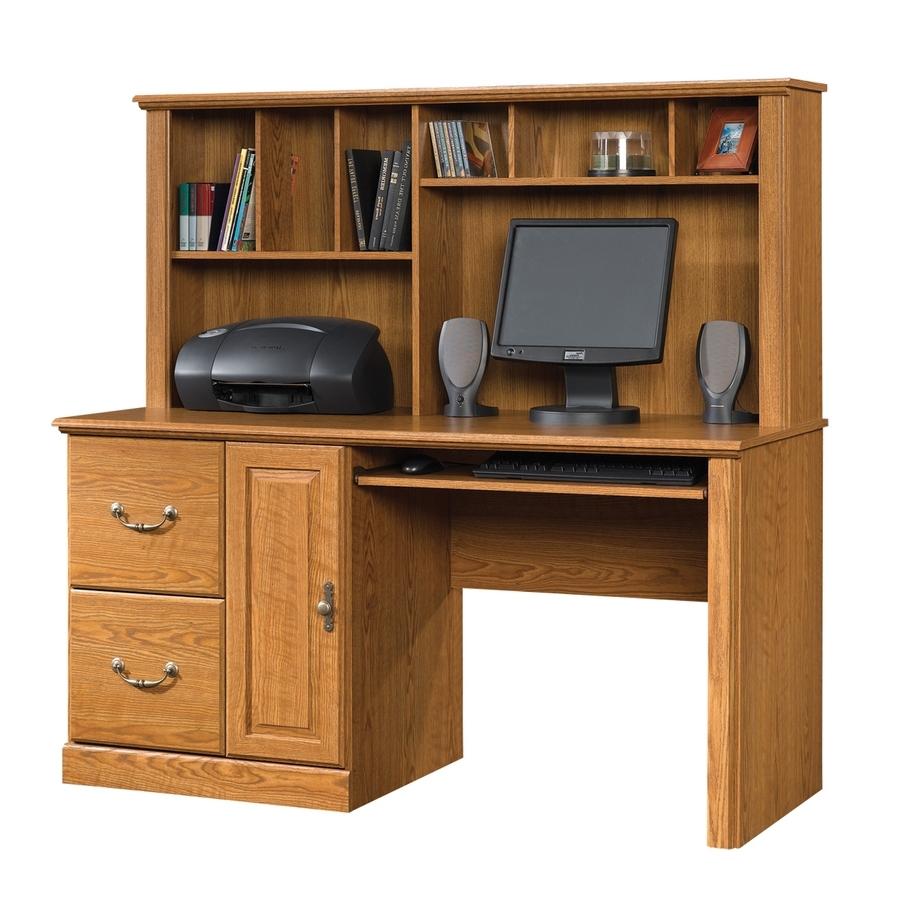 Computer Desks At Lowes Inside Popular Shop Sauder Orchard Hills Traditional Computer Desk At Lowes (View 20 of 20)