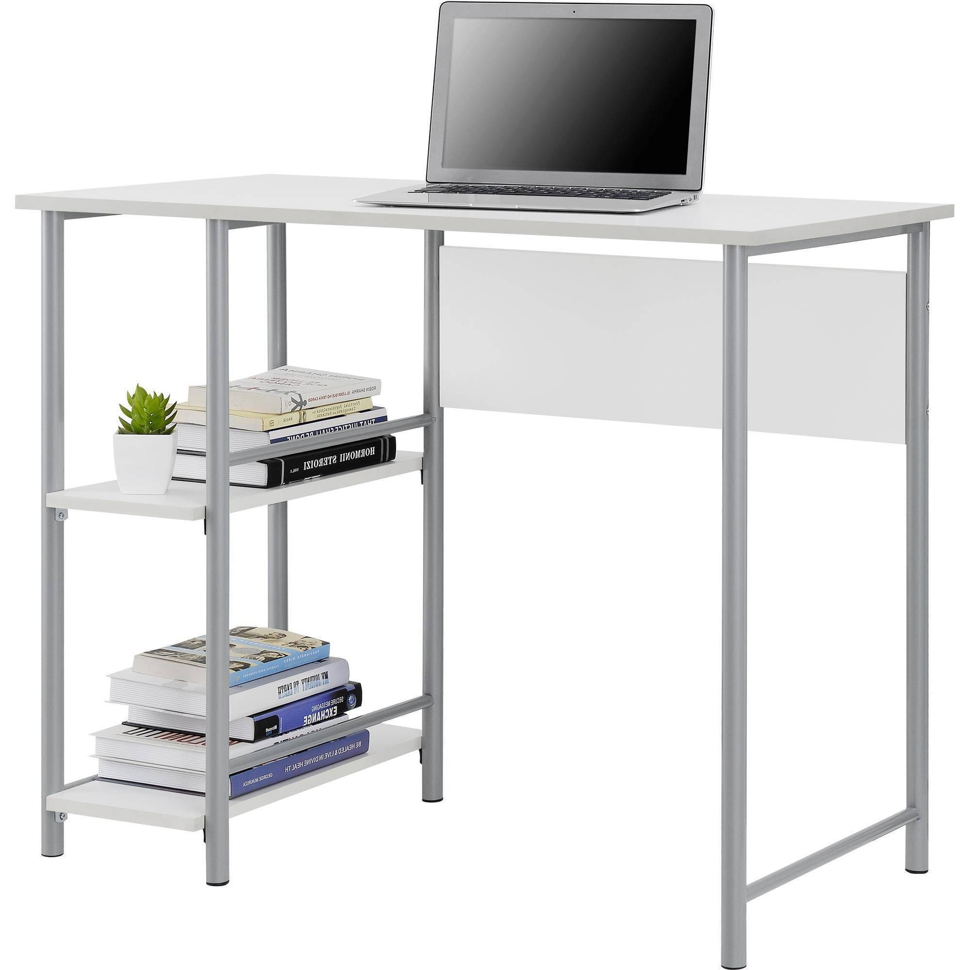 Computer Desks At Walmart With Regard To Most Current Mainstays Computer Desk, Multiple Colors – Walmart (View 19 of 20)