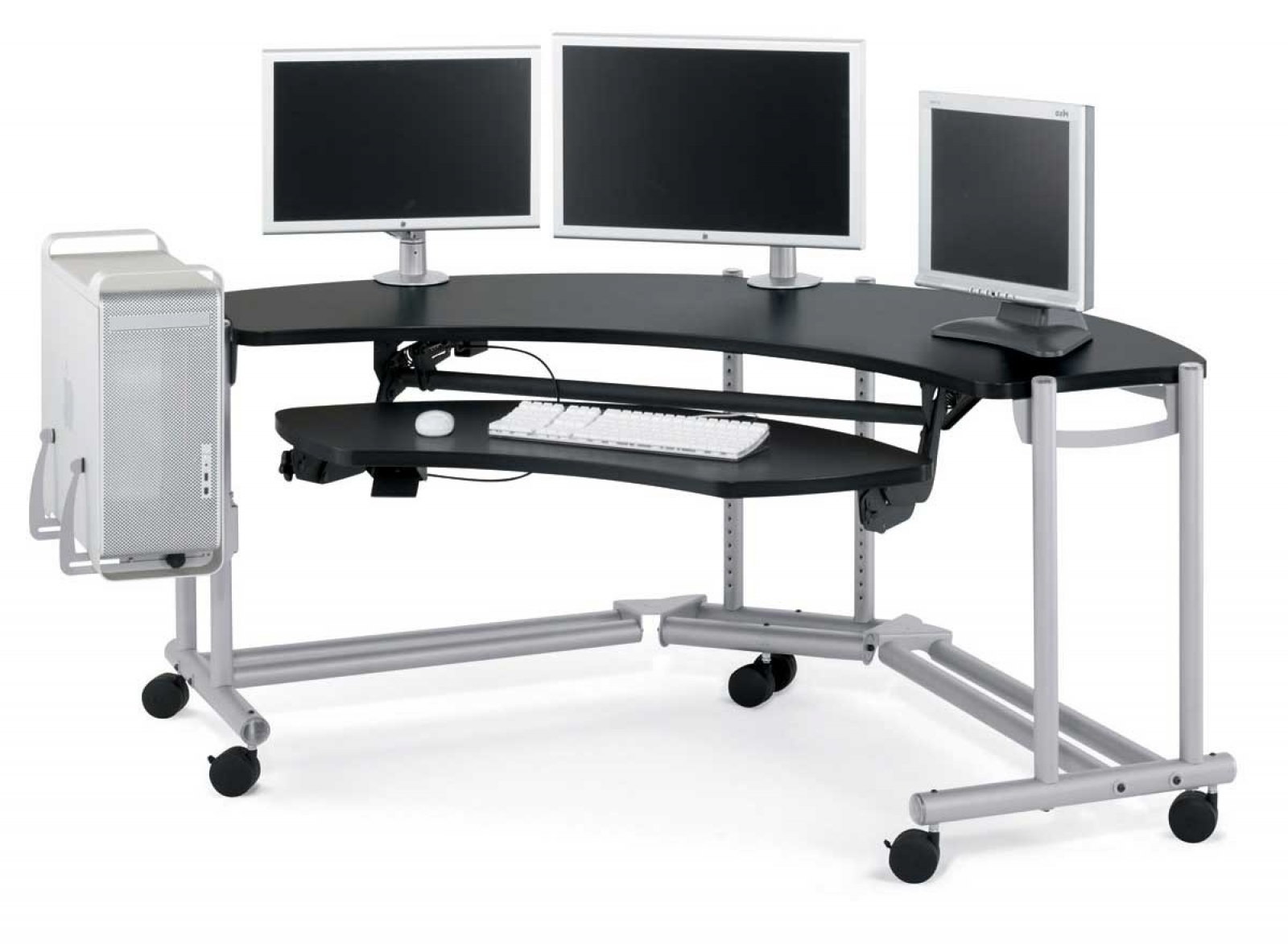 Computer Desks Ergonomic For Home Intended For Well Known Modern Ergonomic Gaming Computer Desk Office Corner Design Pc Ergo (View 5 of 20)