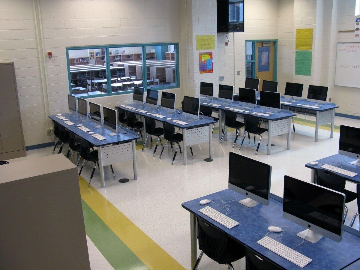 Computer Desks For Schools With Regard To Favorite Remarkable Interior Design School And Cool Top Interior Design (View 6 of 20)