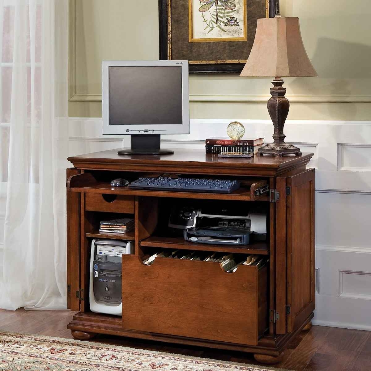 Computer Desks For Small Areas Intended For Favorite Computer Desk For Small Spaces – Decofurnish (View 4 of 20)