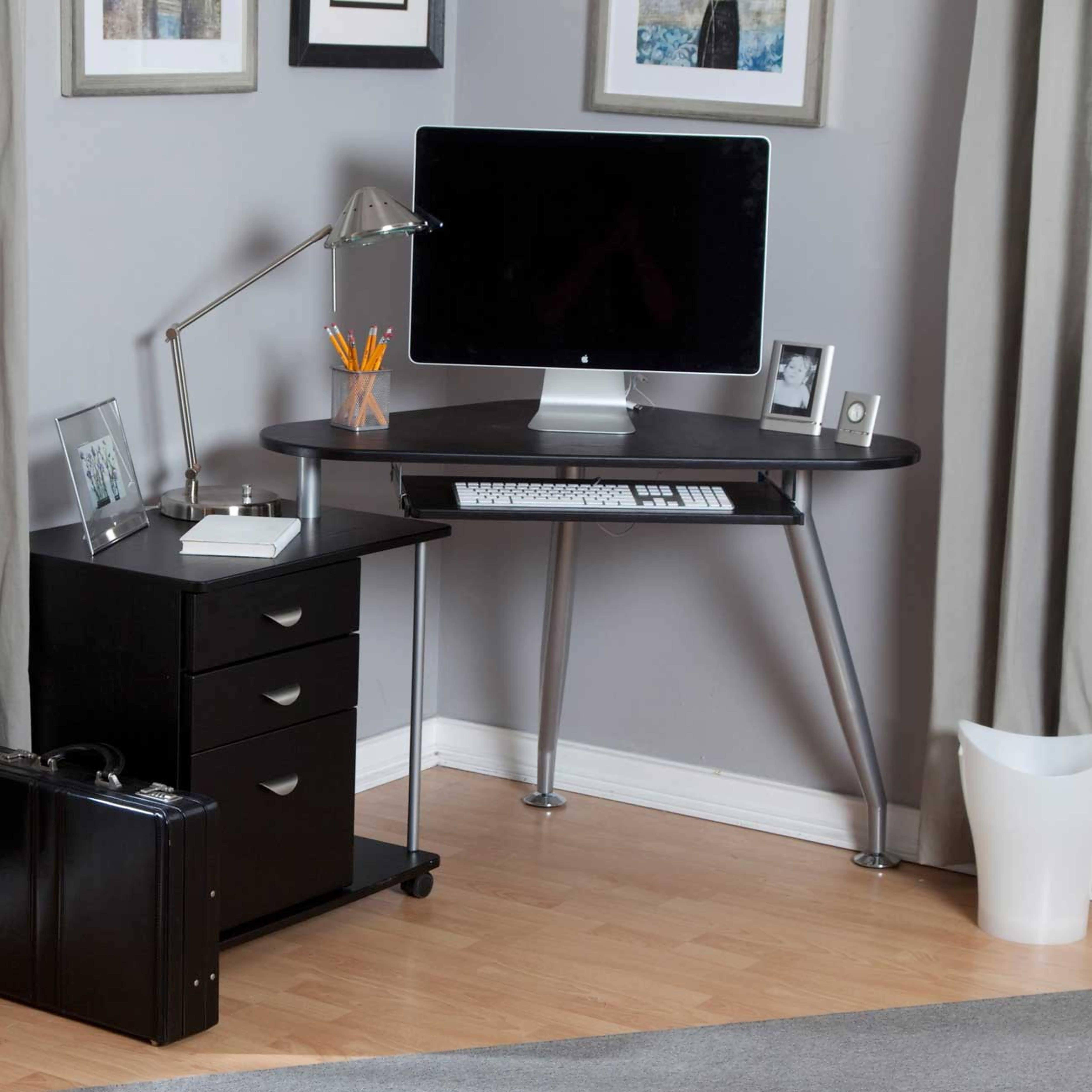 Computer Desks For Small Areas Regarding Most Recent Office Desk : Cheap Desk Corner Desk Small Glass Computer Desk (View 20 of 20)