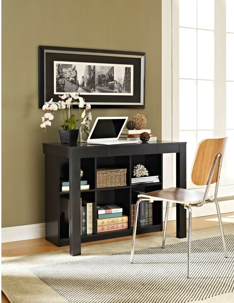 Computer Desks For Small Areas Throughout Best And Newest Ten Space Saving Desks That Work Great In Small Living Spaces (View 7 of 20)