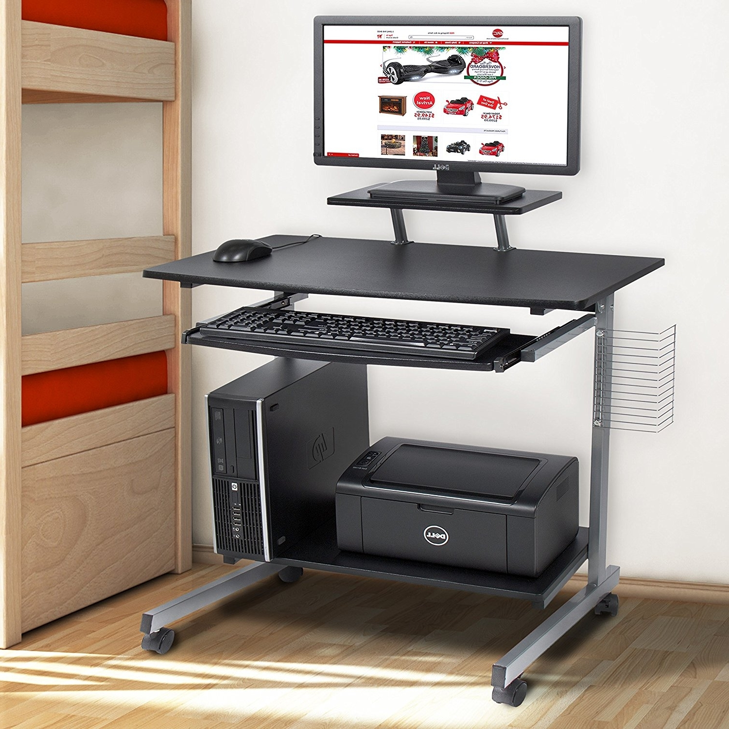 Computer Desks For Small Areas Within Well Known Computer Desk For Small Spaces – New Furniture (View 9 of 20)