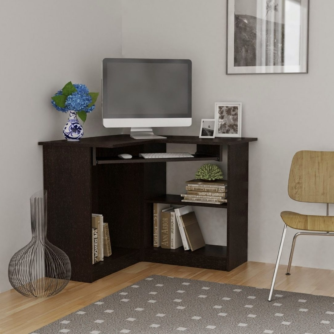 Computer Desks For Small Spaces Regarding Best And Newest Top 74 Marvelous Desk With Storage Desks For Small Spaces Modern (Gallery 8 of 20)
