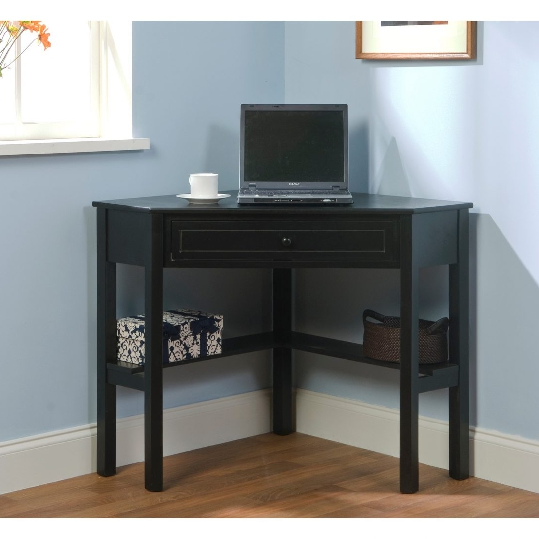 Computer Desks For Very Small Spaces With Regard To Latest 70 Most Magnificent Desks For Small Spaces Gray Computer Desk Dark (View 4 of 20)
