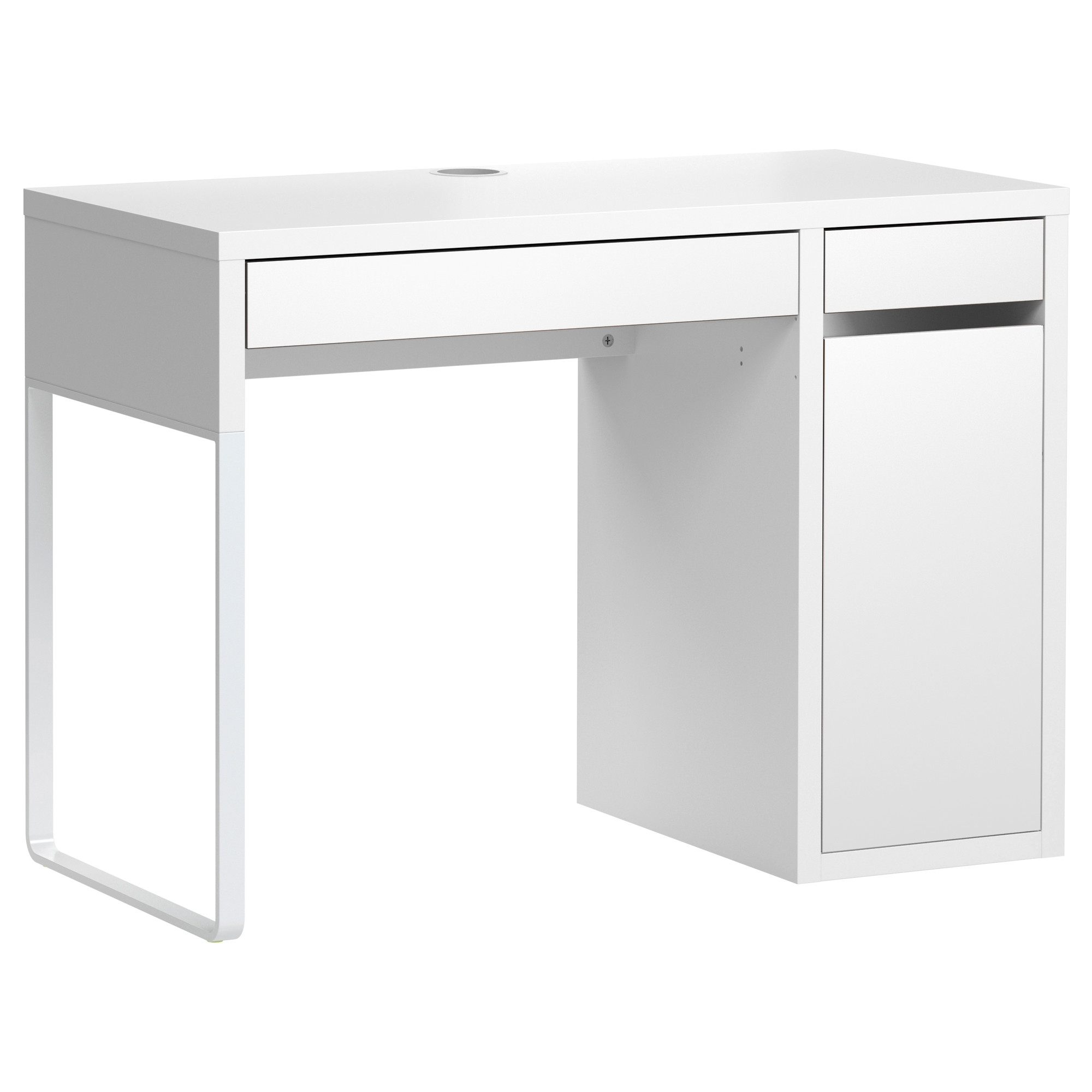 Computer Desks In White With Regard To Preferred Micke Desk – White – Ikea (View 3 of 20)