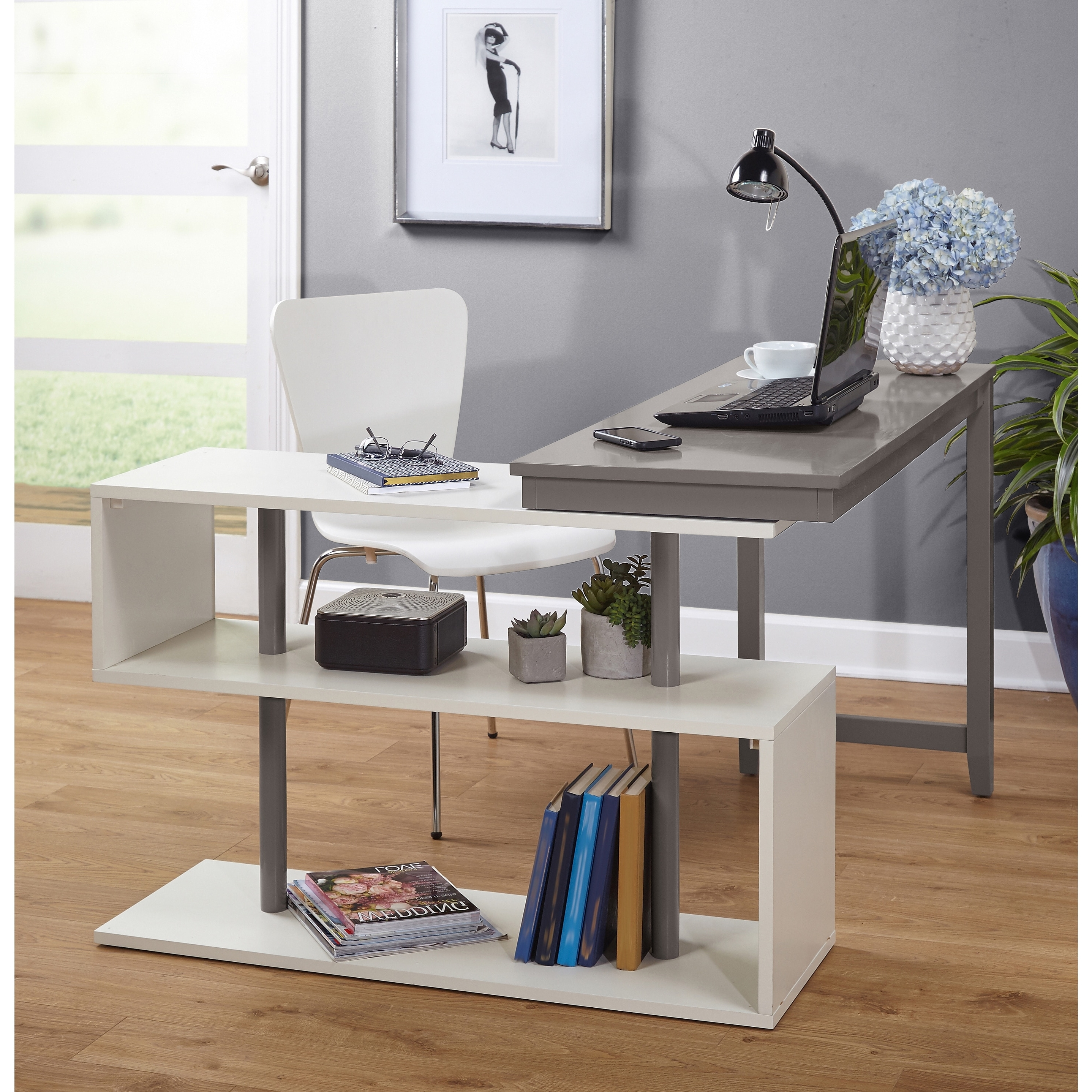 Computer Desks Under $300 Intended For Widely Used L Shaped Desks For Less (Gallery 10 of 20)