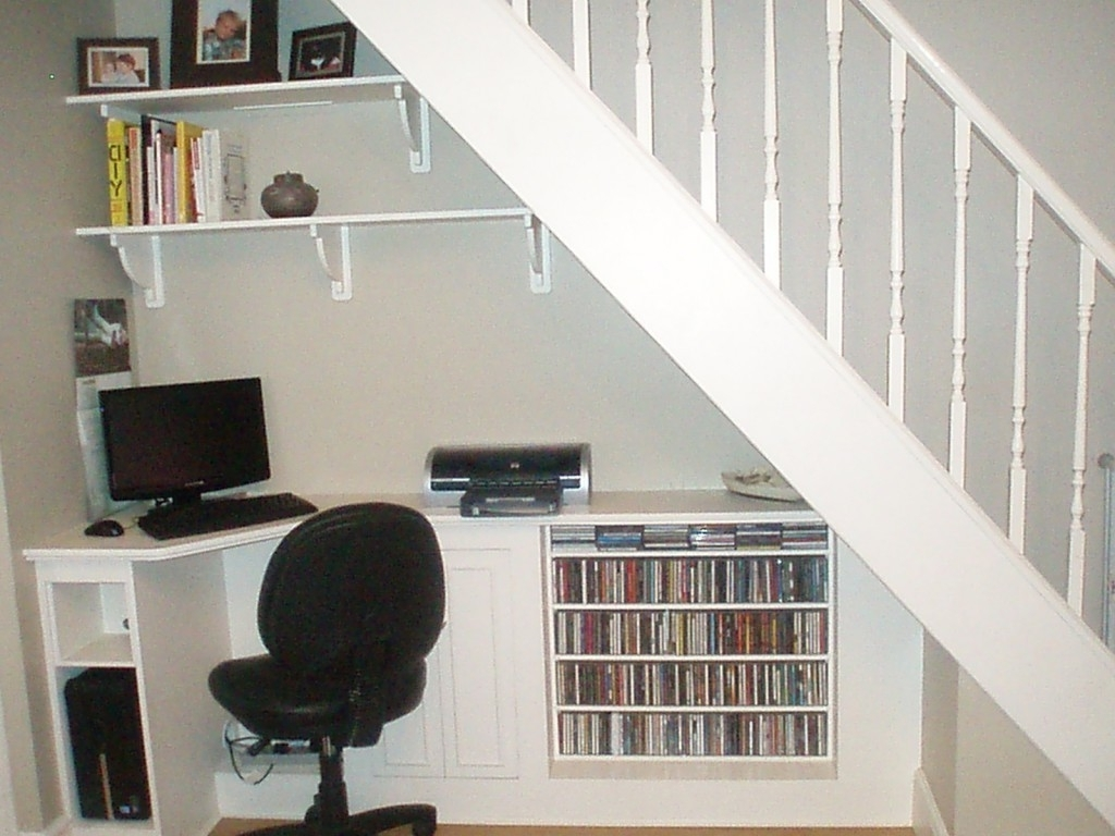 Computer Desks Under Stairs Regarding Most Recently Released Ideas : 23 Brilliant Under Stairs Storage Ideas To Maximize Your (View 4 of 20)