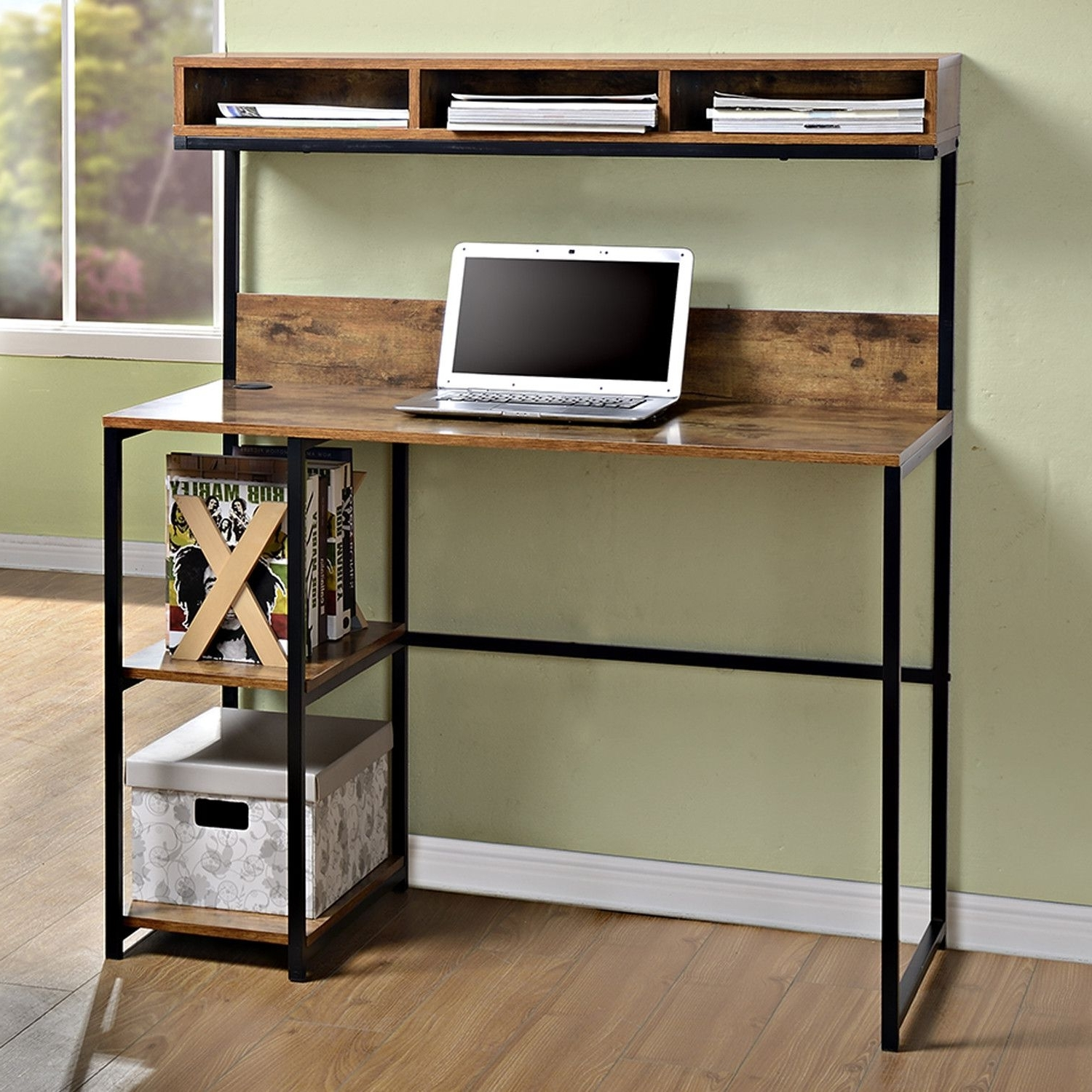 Computer Desks With Bookshelves Intended For 2019 23+ Diy Computer Desk Ideas That Make More Spirit Work (View 17 of 20)