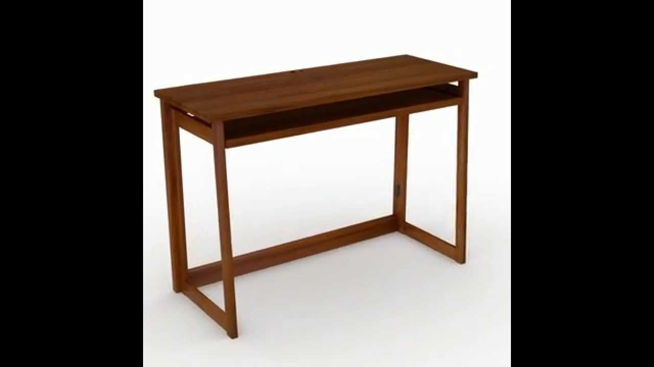 Computer Desks With Usb Ports Inside Current Portable Computer Table With Usb Port – Youtube (View 12 of 20)