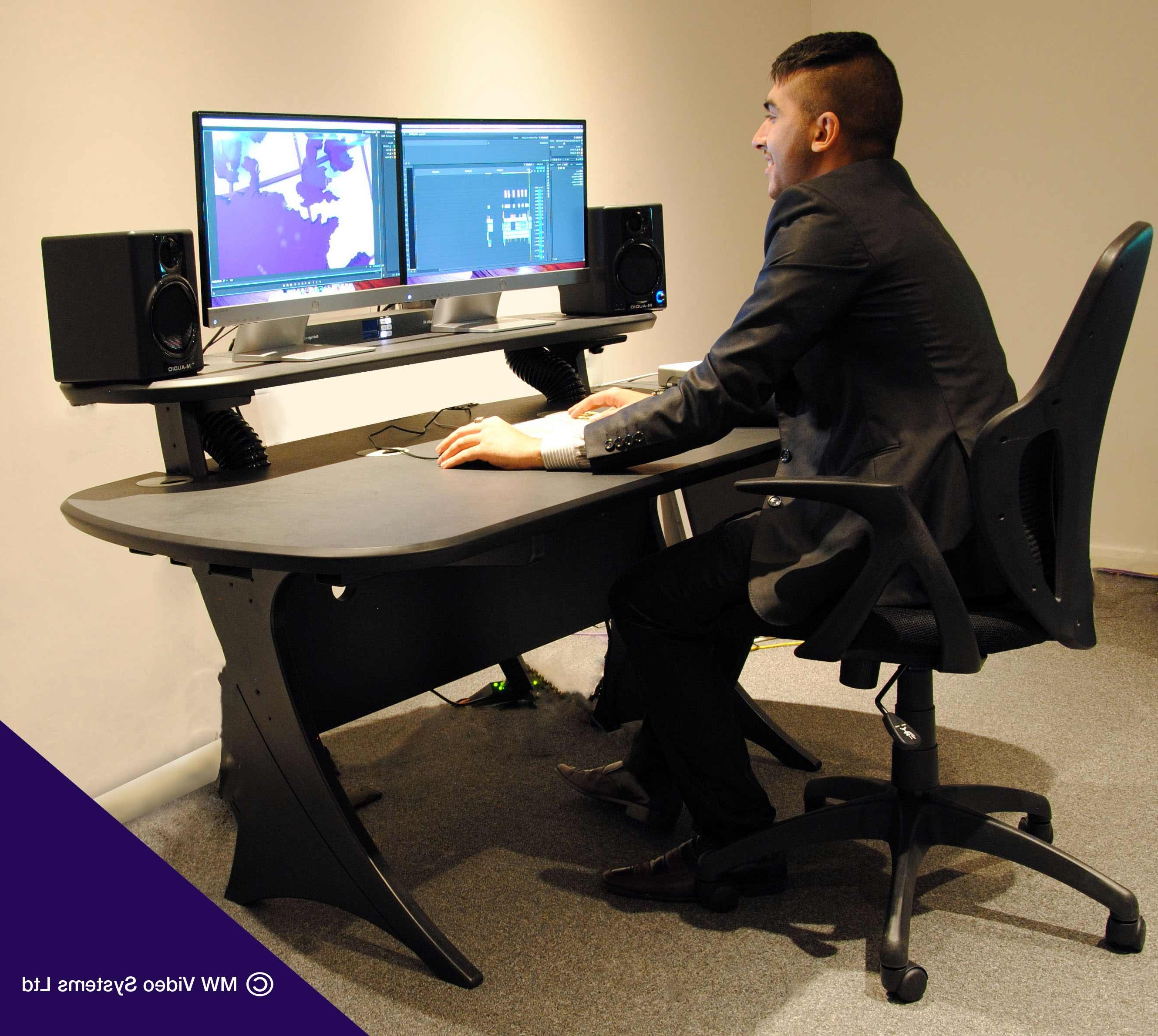 Computer Editing Desks In Best And Newest Editing Desk Assembly Video Now Available Mw Video Systems (View 3 of 20)