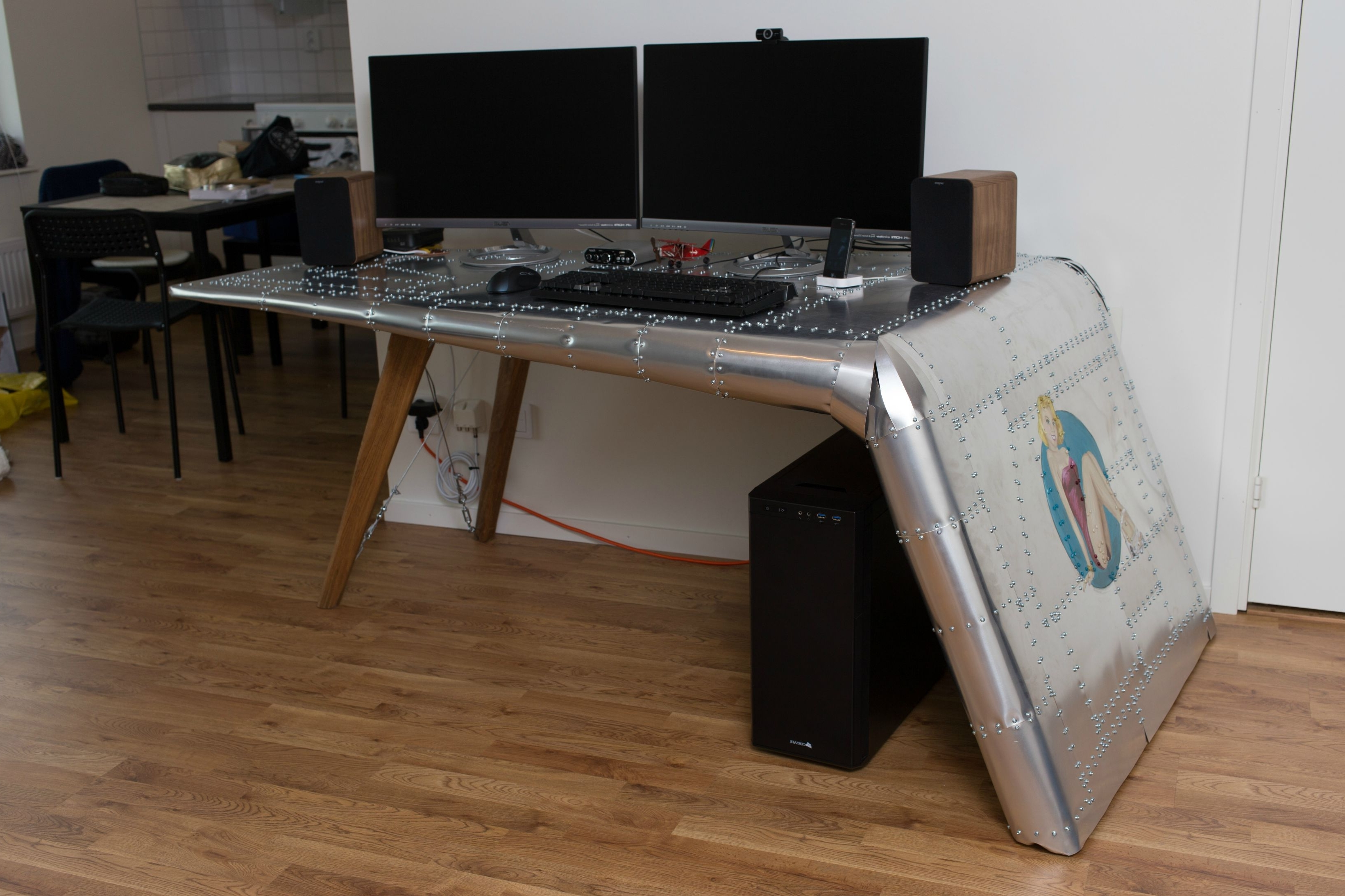 Computer Setup, Desks And Intended For Quirky Computer Desks (View 3 of 20)