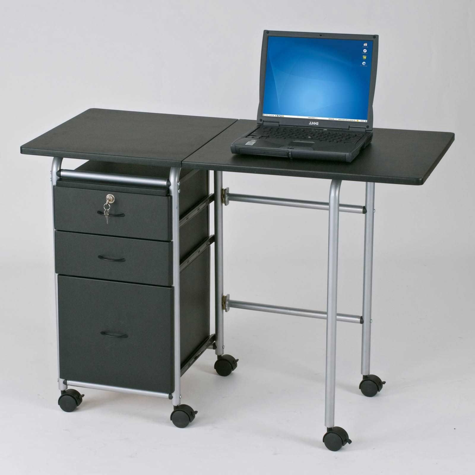 Computer Tables With Small Wheel (View 1 of 20)