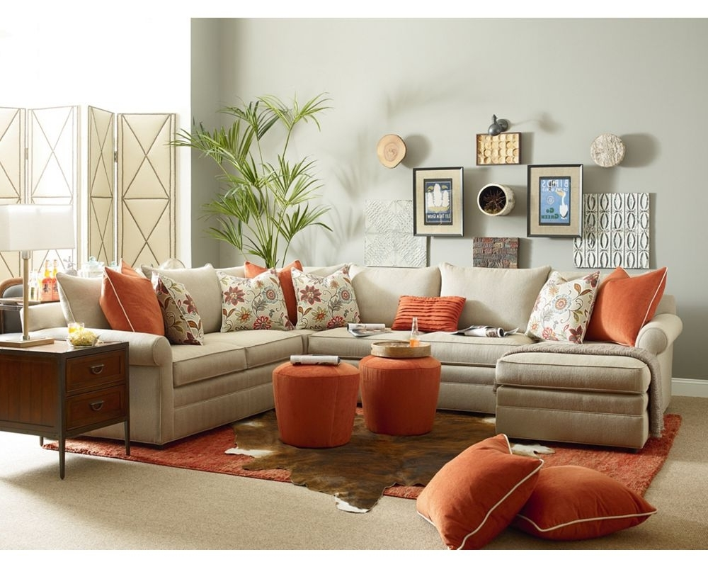 Concord Sectional//thomasville Portland//living Room Inspiration With Fashionable Thomasville Sectional Sofas (View 8 of 20)