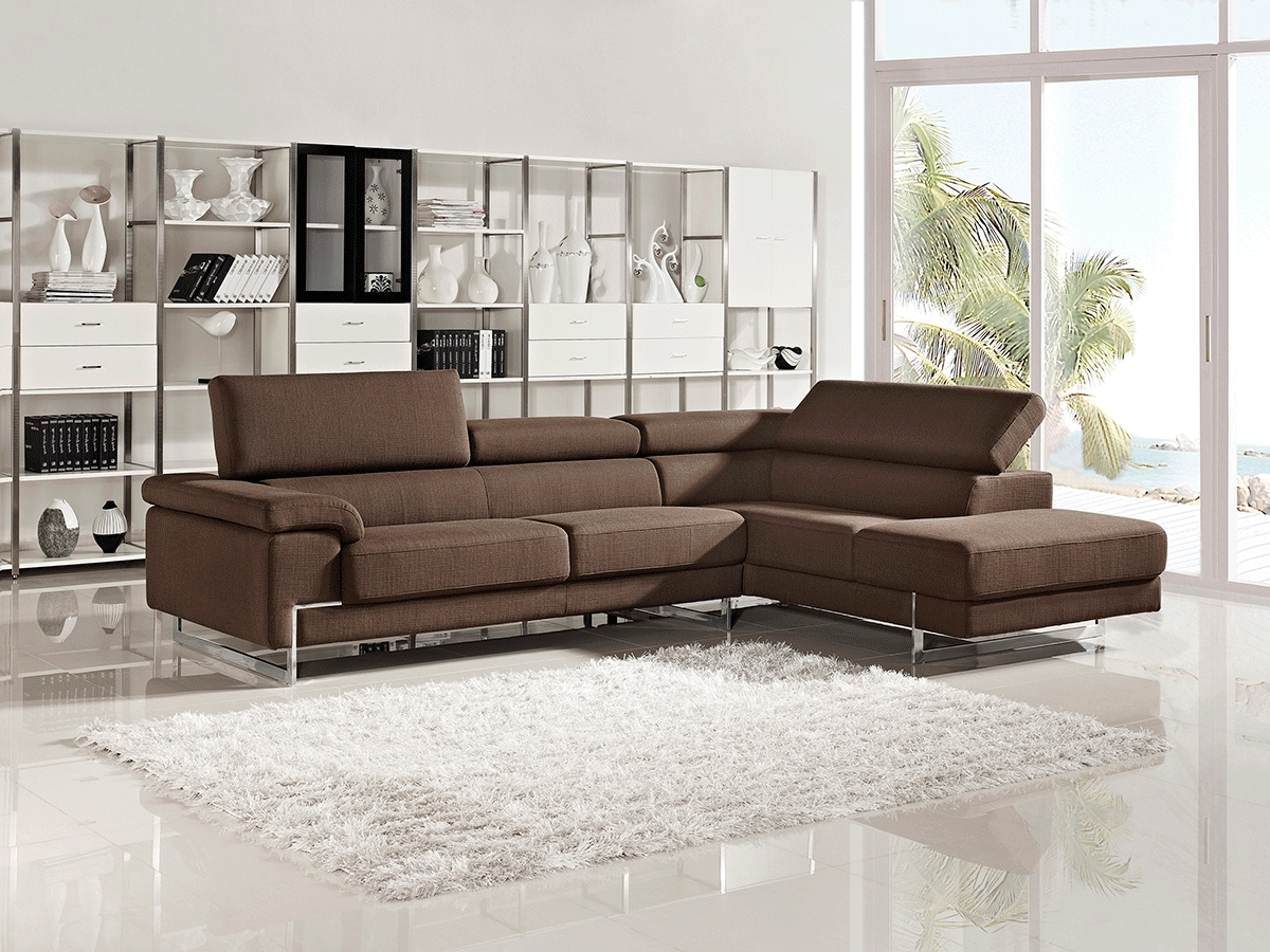 Contemporary Fabric Sofas With Regard To Most Recently Released Fancy Sectional Fabric Sofa 95 On Contemporary Sofa Inspiration (View 8 of 20)