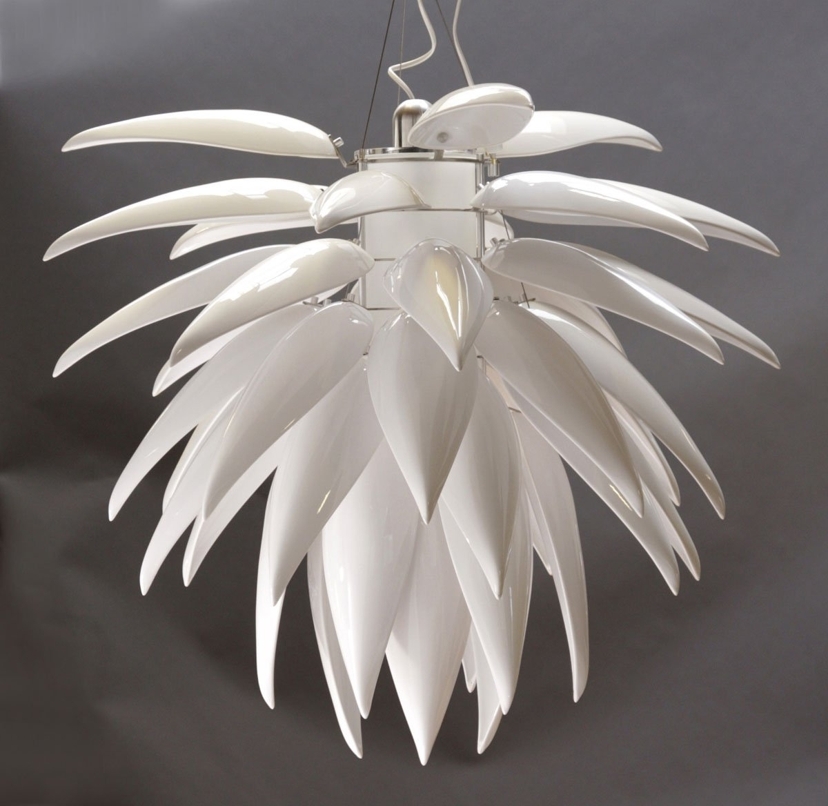 Contemporary Lighting Chandeliers White : Antique Contemporary Inside Most Popular White Contemporary Chandelier (View 9 of 20)