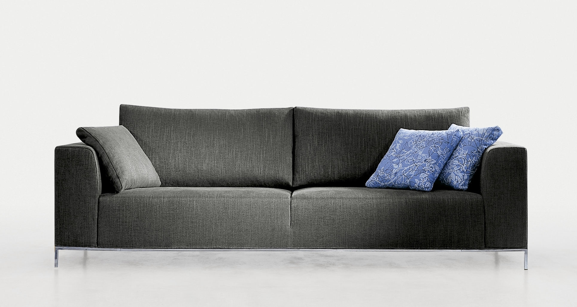 Contemporary Sofa / Fabric / 2 Seater / With Removable Cover In Preferred Sofas With Removable Cover (View 9 of 20)