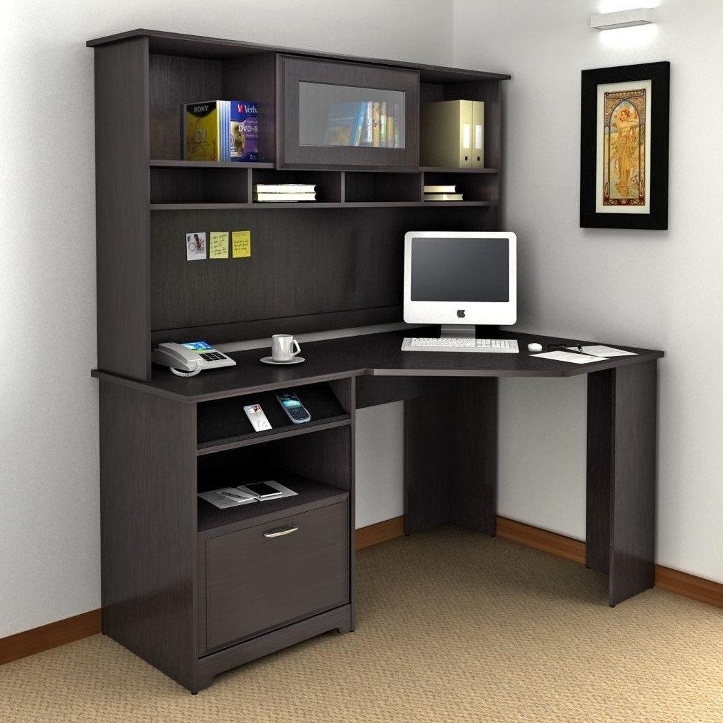 Corner Computer Desks Inside Newest Ideas Decorate Corner Computer Hutch — Rocket Uncle Rocket Uncle (View 16 of 20)