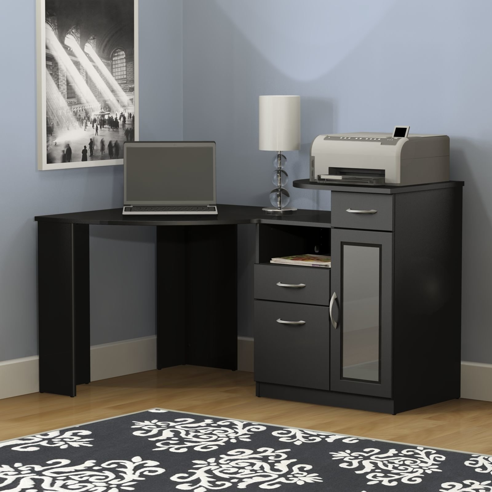 Corner Computer Desks Intended For Best And Newest Corner Desks You'll Love (View 18 of 20)