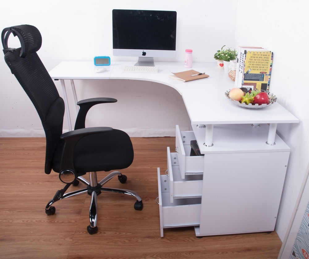 Corner Computer Desks Regarding 2019 Good Ideas For Corner Computer Desks — Desk Design (View 6 of 20)