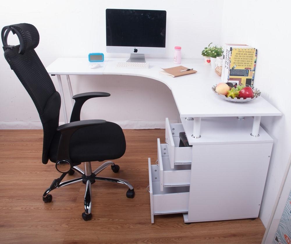 Corner Computer Desks Regarding 2019 Good Ideas For Corner Computer Desks — Desk Design (View 15 of 20)