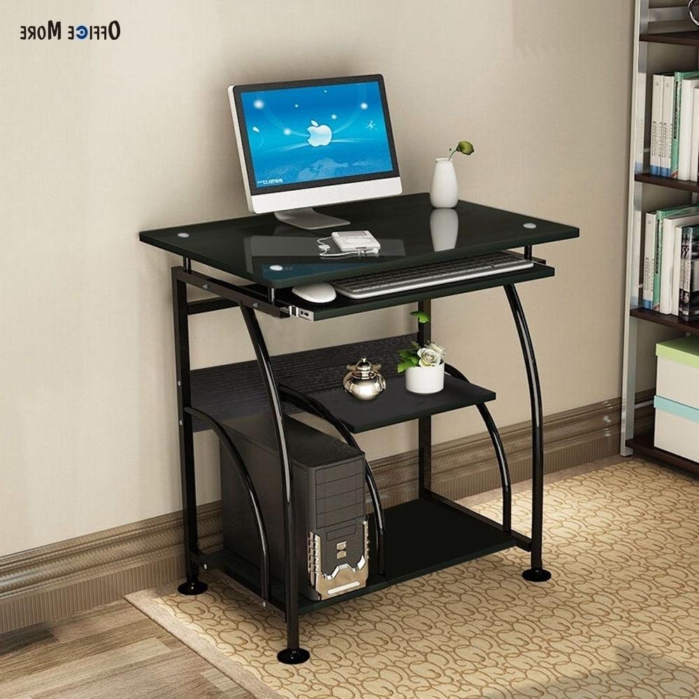 Corner Computer Desks Regarding Well Known Home Office Pc Corner Computer Desk Laptop Table Workstation (View 14 of 20)