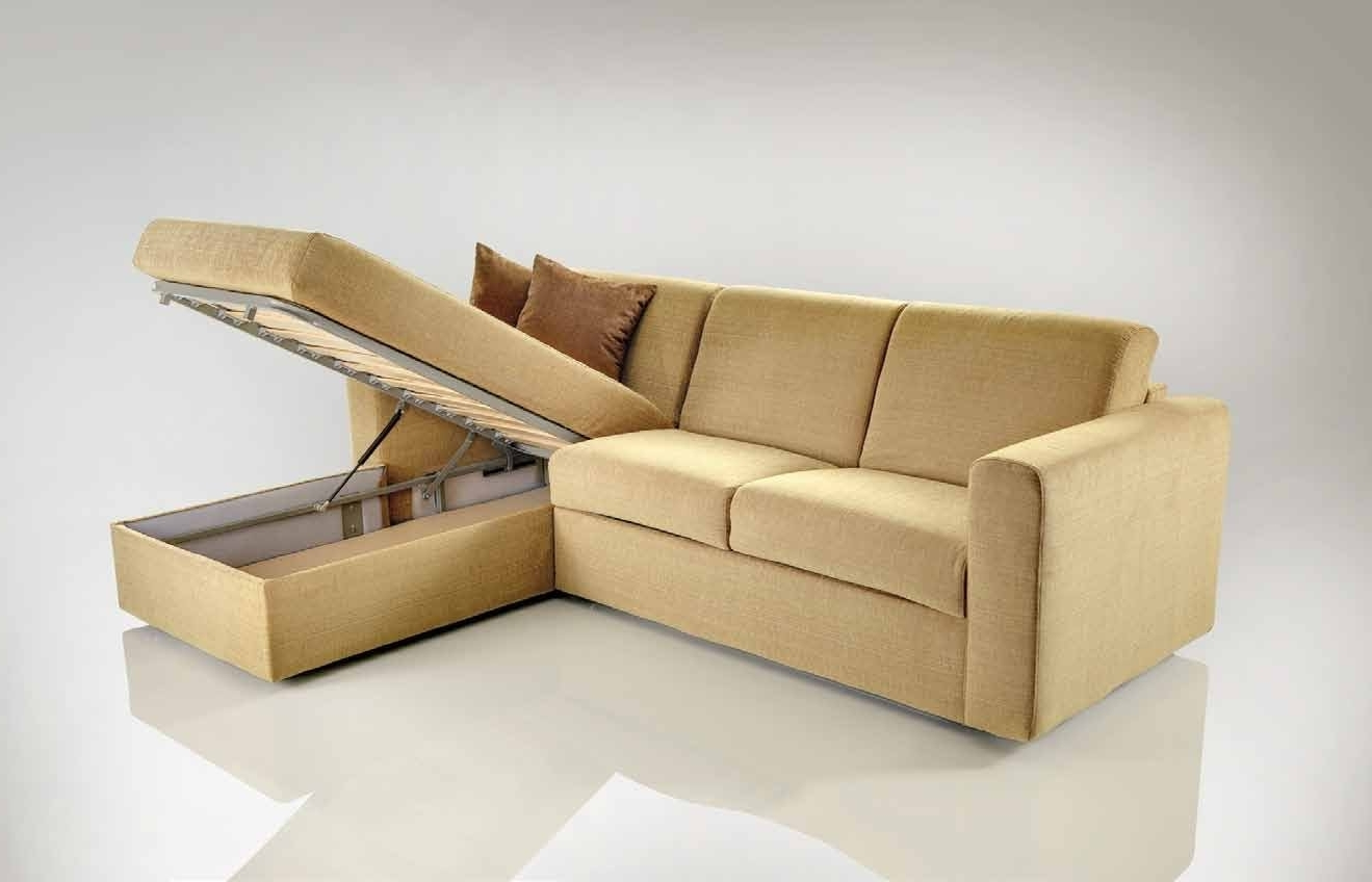Corner Sofa Bed With Storage (View 4 of 20)