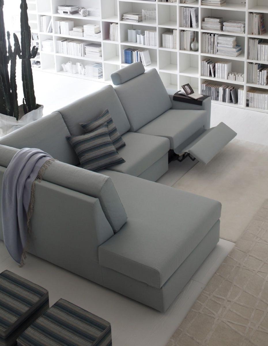 Corner Sofa / Contemporary / Fabric / 4 Seater – Elvis – Doimo Salotti Pertaining To Current Contemporary Fabric Sofas (View 11 of 20)