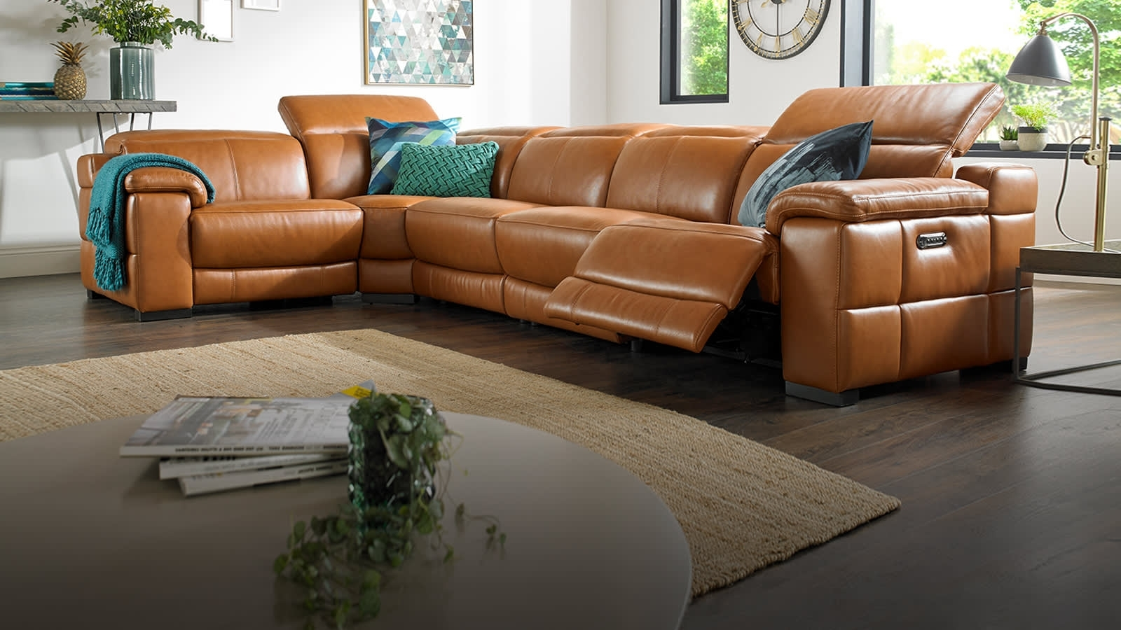 Featured Photo of Leather Corner Sofas