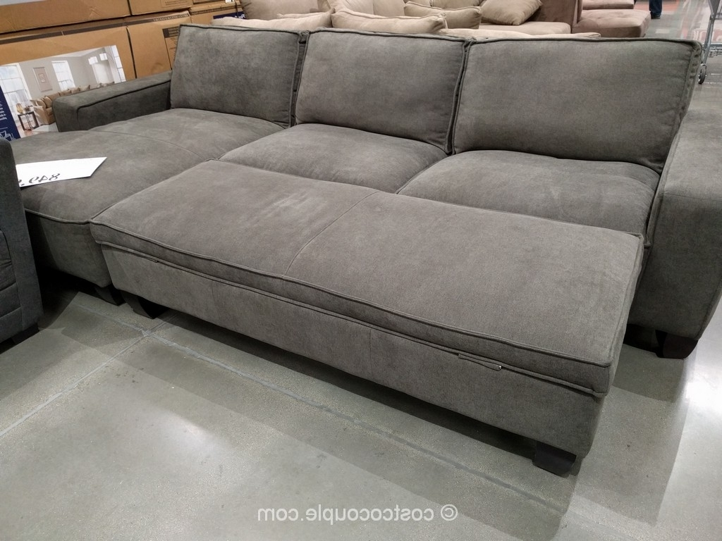 Costco Leather Sectional (View 1 of 20)