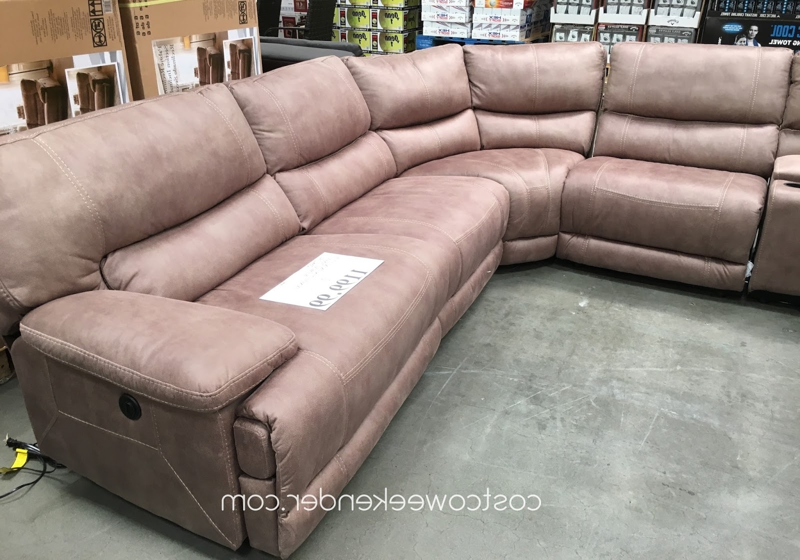 Costco Sectional Sofas – Home Design Ideas And Pictures Inside Best And Newest Sectional Sofas At Costco (View 4 of 20)