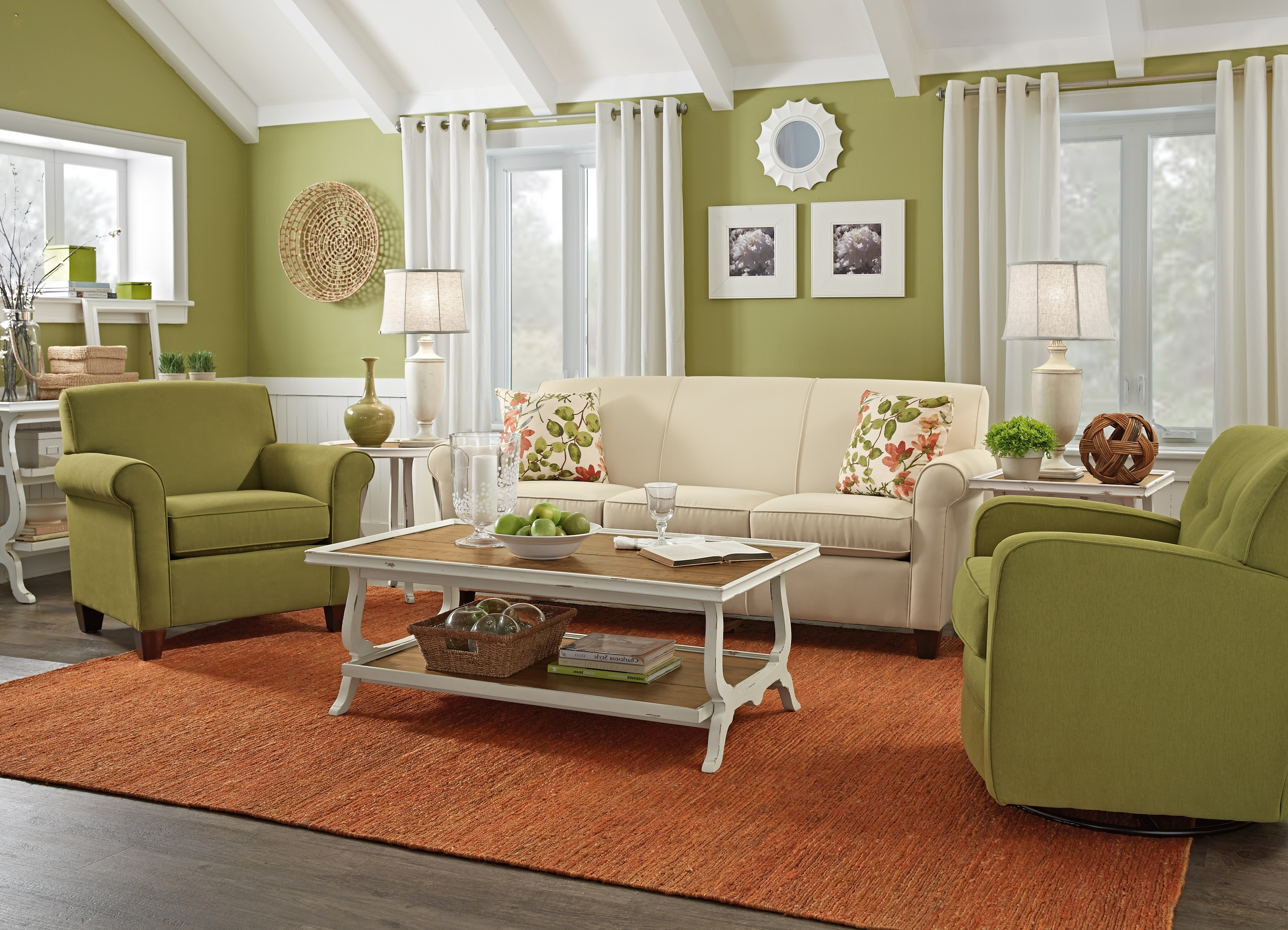 Cottage Style Sofas And Chairs Pertaining To Preferred Country Style Living Room Furniture Cottage Style Sofas Living (View 12 of 20)