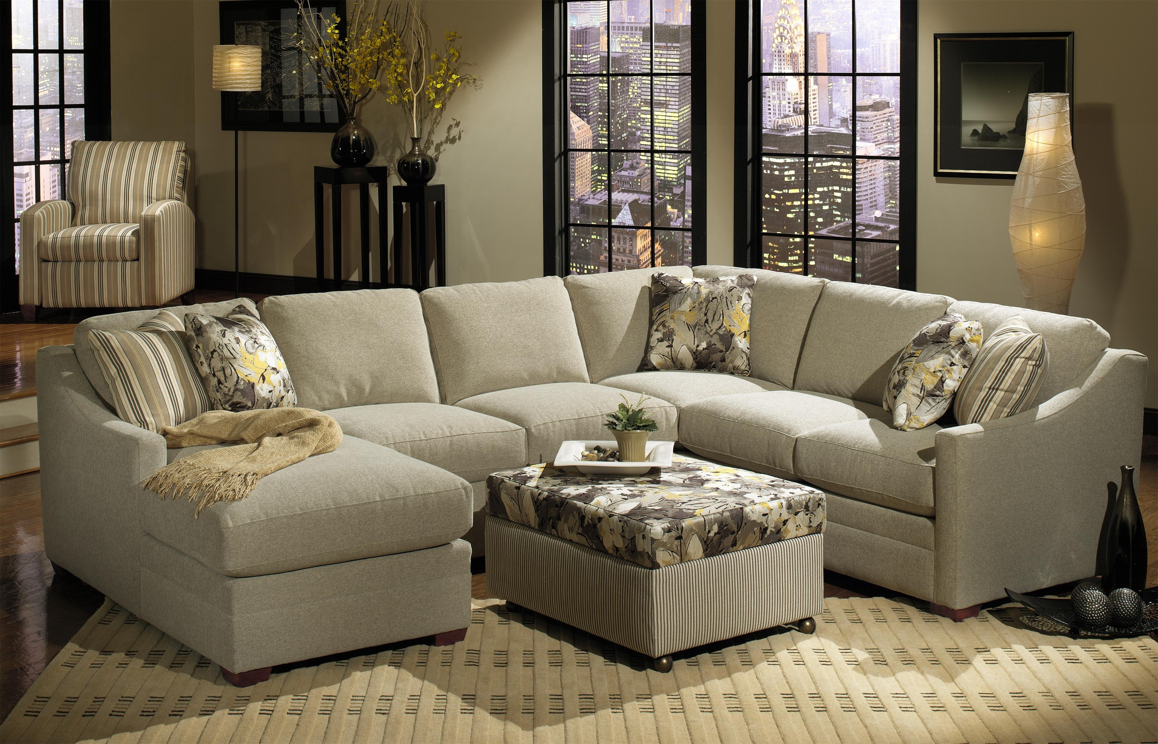 Craftsman Sectional Sofas Intended For Preferred Craftmaster F9 Custom Collection Customizable Three Piece (View 4 of 20)