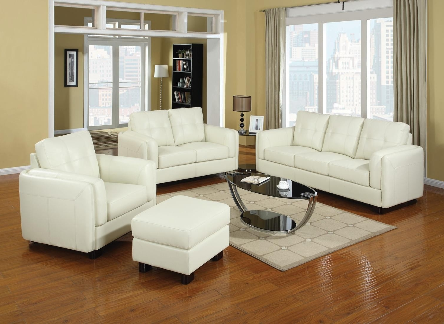 Cream Colored Sofas Intended For Trendy Couch: Attractive Cream Couches Cream Couch Decorating Ideas (View 6 of 20)