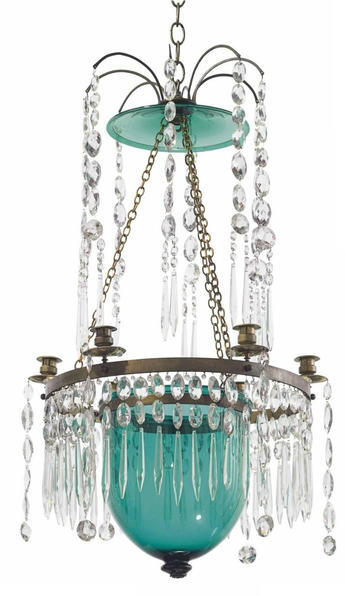 Crystal Chandeliers Within Turquoise Crystal Chandelier Lights (View 7 of 20)