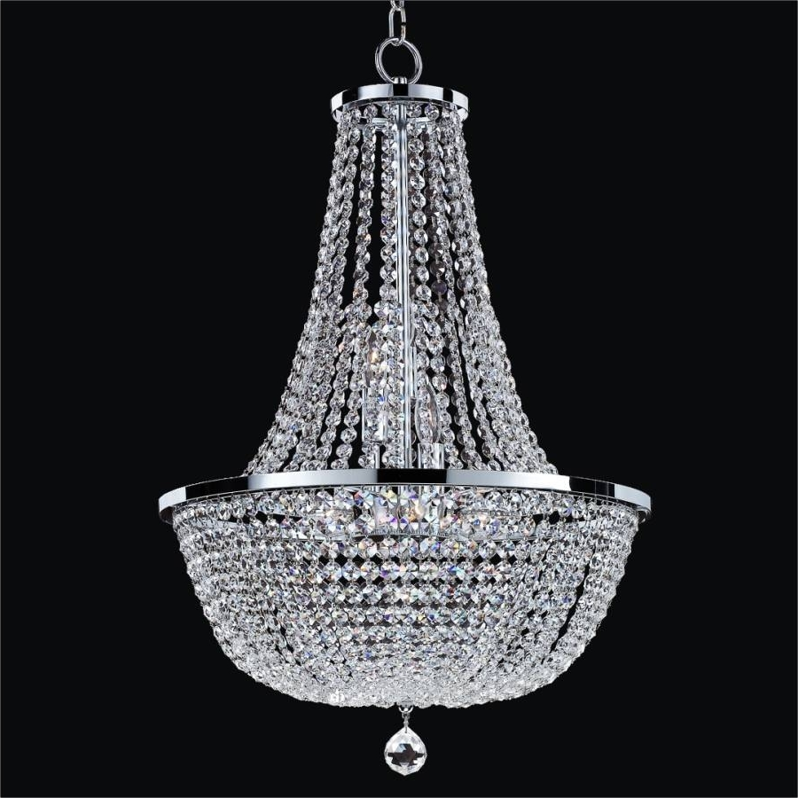 Crystal Empire Chandelier (View 11 of 20)