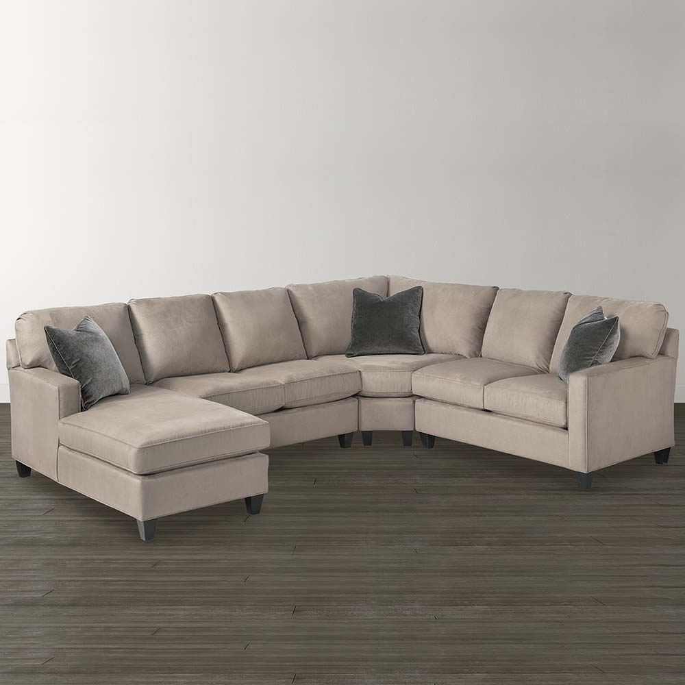 Current Custom Made Sectional Sofas With Regard To Custom Upholstered U Shaped Sectional (View 4 of 20)